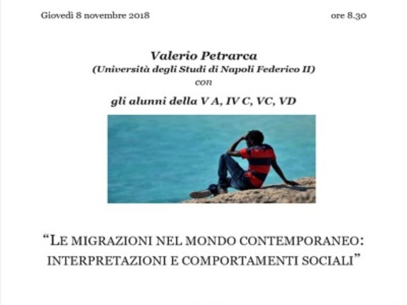 Incontro con Valerio Pertrarca
