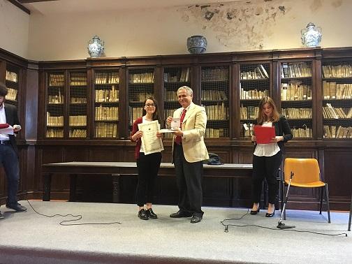 premiazione premio letterario