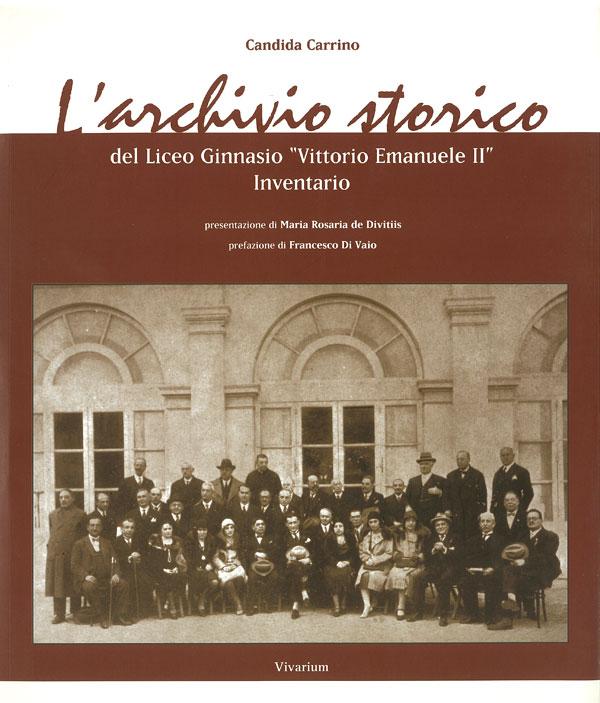 L'Inventario dell'Archivio storico, edito nel 2005.